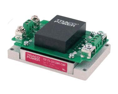 TRACO直流转换器TEP 75-2413WI-CMF